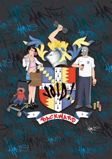 Void One -Birmingham Civic Irony