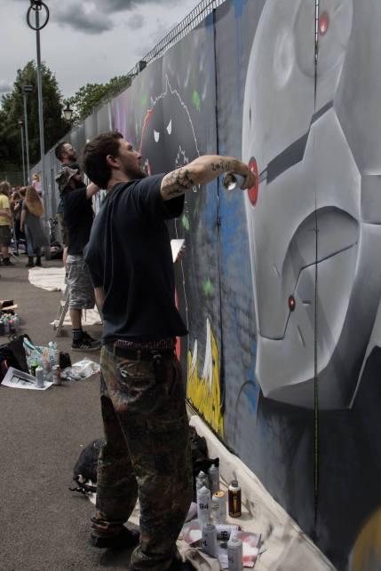 Tamworth Urban Arts Fest WIP